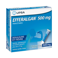 Efferalgan 500 mg Glé en sachet Sach/16 à ANNECY