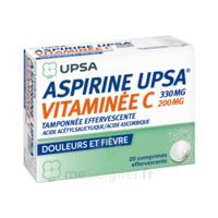 ASPIRINE UPSA VITAMINEE C TAMPONNEE EFFERVESCENTE, comprimé effervescent à ANNECY