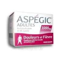 ASPEGIC ADULTES 1000 mg, poudre pour solution buvable en sachet-dose 20 à ANNECY