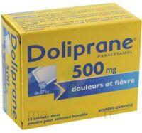 DOLIPRANE 500 mg Poudre pour solution buvable en sachet-dose B/12 à ANNECY