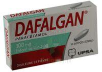 DAFALGAN 300 mg Suppositoires Plq/10 à ANNECY