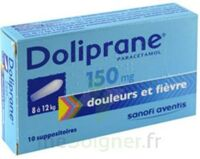 DOLIPRANE 150 mg Suppositoires 2Plq/5 (10) à ANNECY