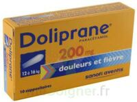 DOLIPRANE 200 mg Suppositoires 2Plq/5 (10) à ANNECY