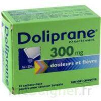 DOLIPRANE 300 mg Poudre pour solution buvable en sachet-dose B/12 à ANNECY