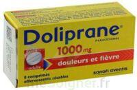 DOLIPRANE 1000 mg Comprimés effervescents sécables T/8 à ANNECY