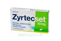 ZYRTECSET 10 mg, comprimé pelliculé sécable à ANNECY