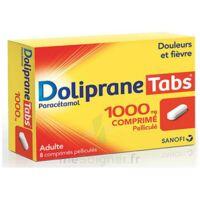 DOLIPRANETABS 1000 mg Comprimés pelliculés Plq/8 à ANNECY