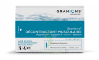 Granions Décontractant musculaire Solution buvable 2B/30 Ampoules/2ml