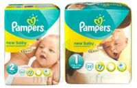 PAMPERS NEW BABY PREMIUM PROTECTION, taille 2, 3 kg à 6 kg, sac 32