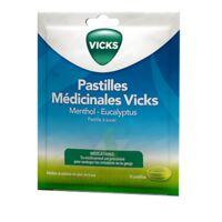 PASTILLES MEDICINALES VICKS Past à sucer menthol eucalyptus Sach/18 à ANNECY