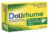 DOLIRHUME PARACETAMOL ET PSEUDOEPHEDRINE 500 mg/30 mg, comprimé à ANNECY