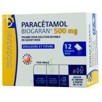 PARACETAMOL BIOGARAN 500 mg, poudre pour solution buvable en sachet-dose à ANNECY