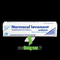 NORMACOL LAVEMENT ENFANTS, solution rectale, récipient unidose à ANNECY