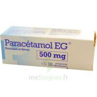PARACETAMOL EG 500 mg, comprimé effervescent à ANNECY
