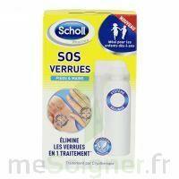 Scholl SOS Verrues traitement pieds et mains à ANNECY