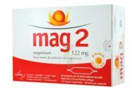 MAG 2 122 mg S buv en ampoule sans sucre édulcoré à la saccharine sodique 30Amp/10ml à ANNECY