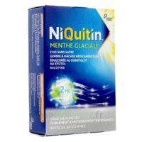 Niquitin 2 Mg Gom à Mâcher Médic Menthe Glaciale Sans Sucre Plq Pvc/pvdc/alu/30 à ANNECY