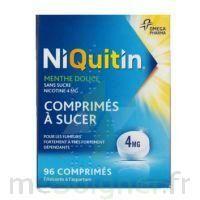 Niquitin Menthe Douce 4 Mg Sans Sucre, Comprimé à Sucer édulcoré à L'aspartam à ANNECY