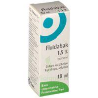 FLUIDABAK 1,5 %, collyre en solution à ANNECY