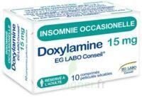 Doxylamine Eg Labo Conseil 15 Mg, Comprimé Pelliculé Sécable à ANNECY
