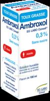 AMBROXOL EG LABO CONSEIL 0,3 POUR CENT SANS SUCRE, solution buvable édulcorée au cyclamate de sodium et au sorbitol à ANNECY