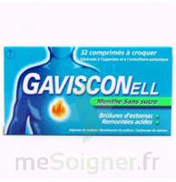GAVISCONELL Coprimés à croquer sans sucre menthe édulcoré à l'aspartam et à l'acésulfame potas Plq/24 à ANNECY