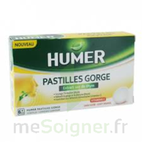 HUMER PASTILLE GORGE à l'etrait sec de thym 24 pastilles à ANNECY