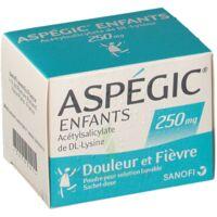 ASPEGIC ENFANTS 250, poudre pour solution buvable en sachet-dose à ANNECY