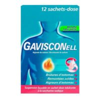 Gavisconell Suspension Buvable Sachet-dose Menthe Sans Sucre 12sach/10ml à ANNECY