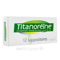TITANOREINE Suppositoires B/12