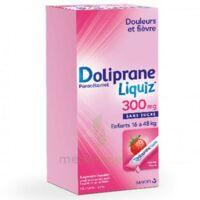 Dolipraneliquiz 300 mg Suspension buvable en sachet sans sucre édulcorée au maltitol liquide et au sorbitol B/12 à ANNECY