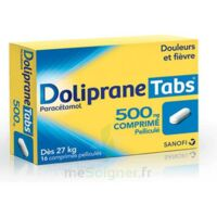DOLIPRANETABS 500 mg Comprimés pelliculés Plq/16 à ANNECY