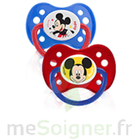 Dodie Disney Sucette anatomique silicone +6mois Mickey Lot/2 à ANNECY