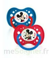 Dodie Disney sucettes silicone +18 mois Mickey Duo à ANNECY