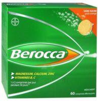 Berocca Comprimés effervescents sans sucre T/60 à ANNECY
