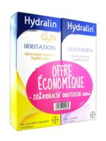 Hydralin Quotidien Gel lavant usage intime 200ml+Gyn 200ml à ANNECY