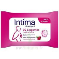 Intima Gyn'Expert Lingettes Cranberry Paquet/30 à ANNECY
