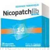 NICOPATCHLIB 14 mg/24 h Dispositifs transdermiques B/28 à ANNECY