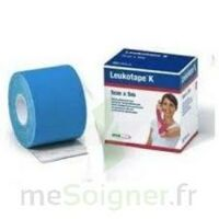 LEUKOTAPE K Sparadrap bleu 5cmx5m