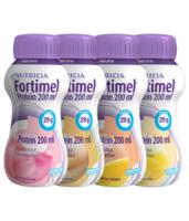 Fortimel Protein Nutriment multi saveurs caramel/vanille/fraise/mangue 4 Bouteilles/200ml à ANNECY