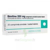 BEVITINE 250 mg Cpr enr Plq/20 à ANNECY