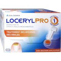LOCERYLPRO 5 % V ongles médicamenteux Fl/2,5ml+spatule+30 limes+lingettes à ANNECY