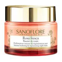 Sanoflore Rosa Fresca Baume de rosée nuit Pot/50ml