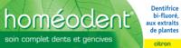 Boiron Homéodent Soin Complet Dents et Gencives Pâte Dentifrice Citron T/75ml à ANNECY